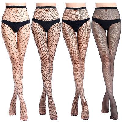 Sexy Pantyhose Fishnet Tights Lingerie Jacquard Stockings Black Adult Plus Size (Adult Plus)