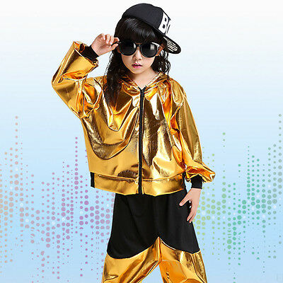 Dance Costumes Boys (Bright Boys Modern Jazz dance Outfits Kids Performance Hip Hop Dance)