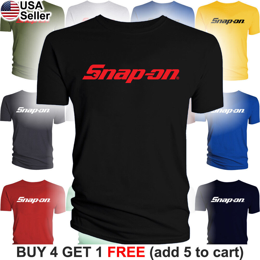 Car Parts - Snap-On T-Shirt Tools Mechanic Shop Auto Parts Racing Van Repair Power Car Men