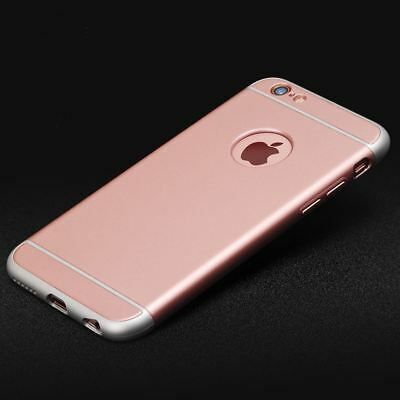 Luxury Ultra-thin Shockproof Armor Back Case Cover for Apple iPhone X 8 7 6 5 Se