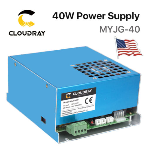 40W PSU CO2 Laser Power Supply for Engraver Cutter Machine 220V /110V