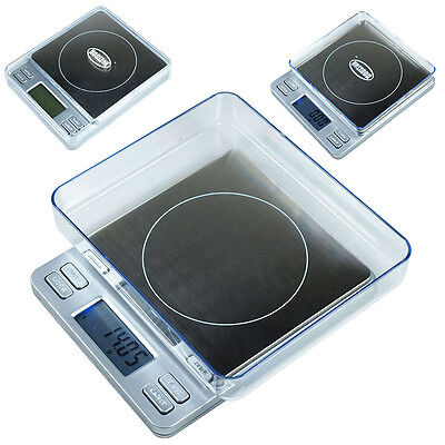 Horizon TPS-200 200g x 0.01g  High Precision Digital Scale with Expansion Trays