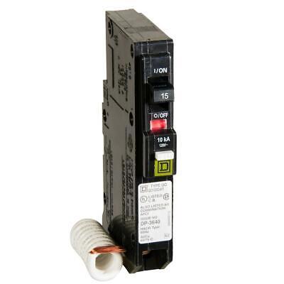 Square D Qo 15 Amp Single-pole Combination Arc Fault Circuit Breaker