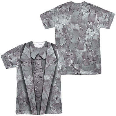 Duct Tape Suit Halloween Costume T-shirt Front & Back (Duct Tape Halloween Costumes)