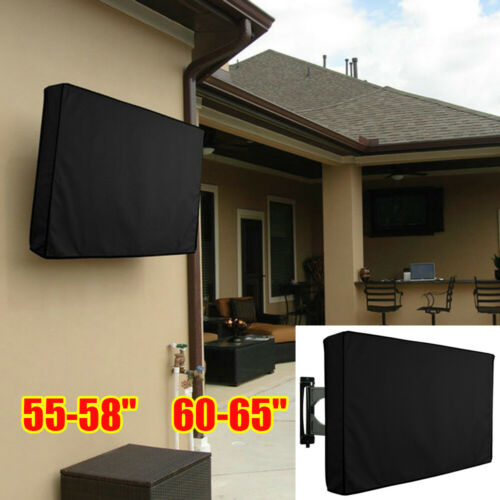 55-65 inch TV Cover Outdoor Gear Black Waterproof Protector