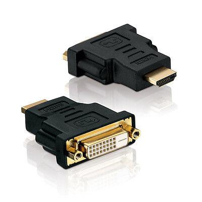 Adapter DVI-D Buchse (24+1) auf HDMI Stecker ( 19 pin )