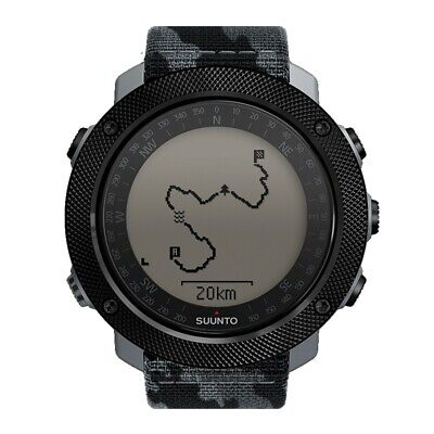 Suunto Traverse Alpha Concrete Mens GPS Outdoor Wrist Watch - SS023446000