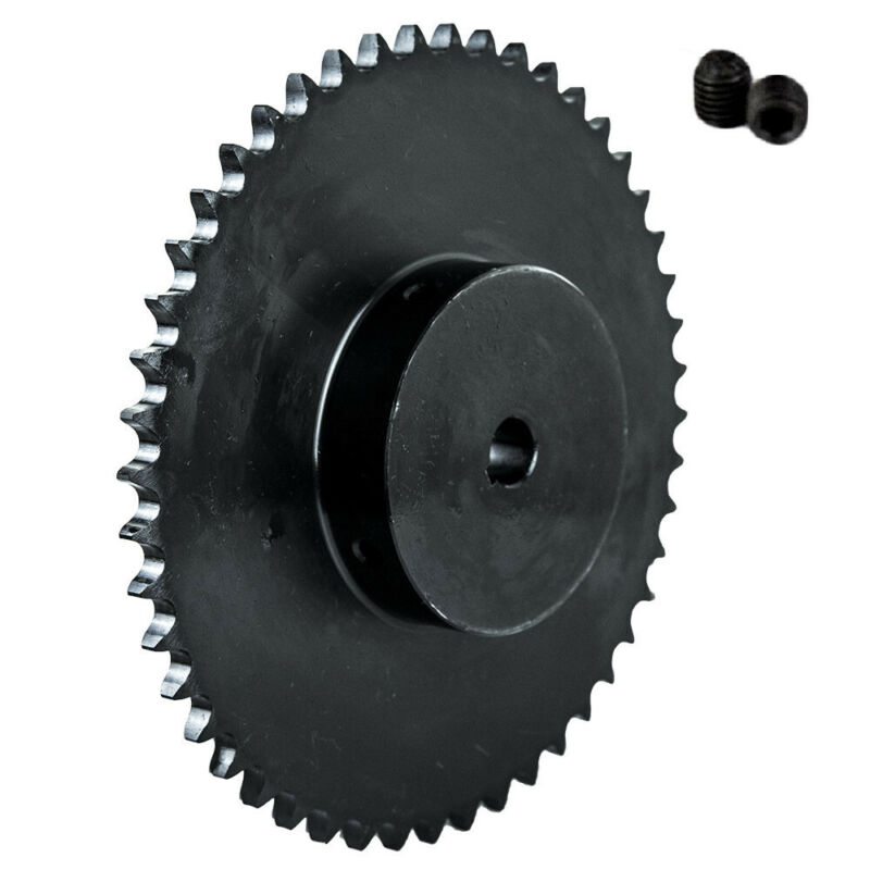 """40B50T-3/4"""" Bore 50 Tooth B Type Sprocket for 40 Roller Chain"""