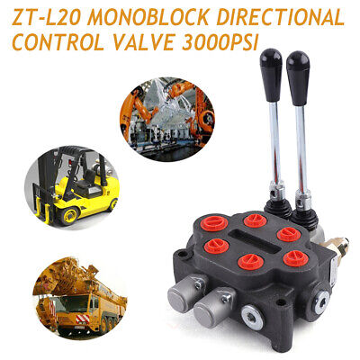 2spool Hydraulic Directional Control Valve 25gpm Tractors Loaders Double Acting