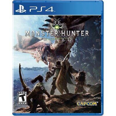 Monster Hunter  World   Playstation 4 Pre Order 01 26 2018