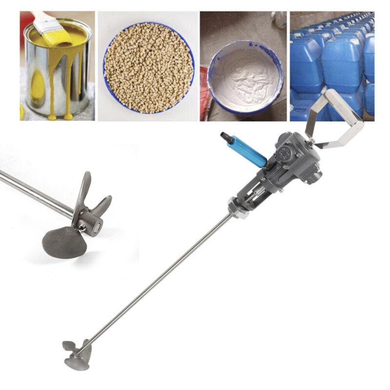5 Gallon Pneumatic Paint coating Mixer Shaker Air Agitator Blender Stirrer STOCK