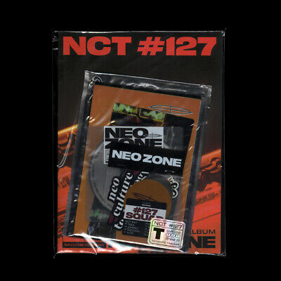 NCT 127 - NCT #127 Neo Zone [T ver] CD+Photobook+On Pack Poster+Gift+Tracking no