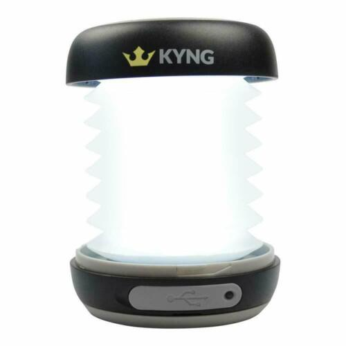 KYNG Solar LED Portable Light Rechargeable Lantern Outdoor Camping Hiking Lamp!
