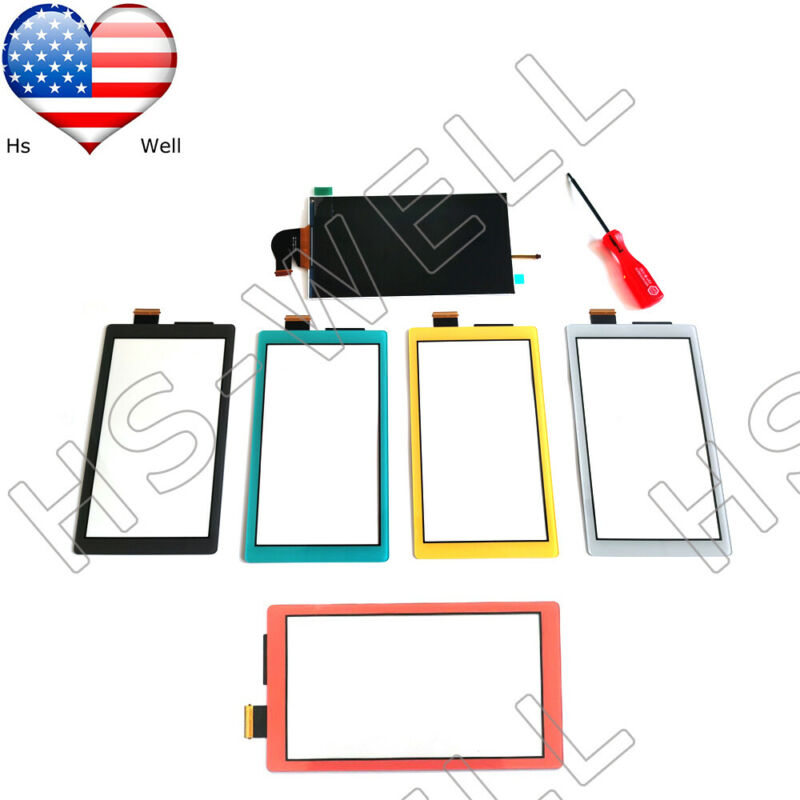 """OEM Nintendo Switch Lite Replacement LCD Screen Display 5.5 """" + Touch Digitizer"""