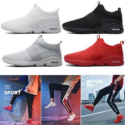 Men Outdoor Casual Sport Shoes Slip On Sneaker Trainer Dance Camping Fitness (Camp Sport Shoe)