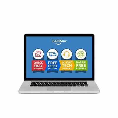 "Apple 15"" MacBook Pro 2008 2.4GHz Intel Core 2 Duo 250GB HDD 4GB A1286 MB470LL/A"