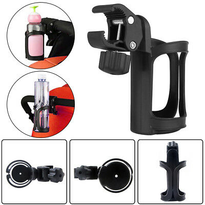 (Motorcycle Cycling Bike Handlebar Drink Water Bottle Cup Holder Mount Cage Black)
