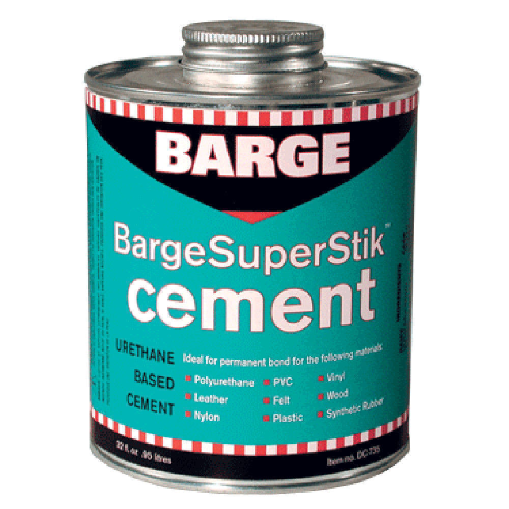 BARGE Super Stik Urethane Cement 1 Quart / 32oz can Super stick Adhesives, Sealants & Tapes