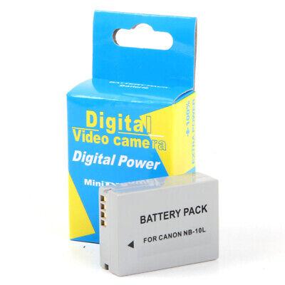 Batería NB-10L NB10L 1300mAh para Canon Powershot SX60 HS, G3 X, G3X