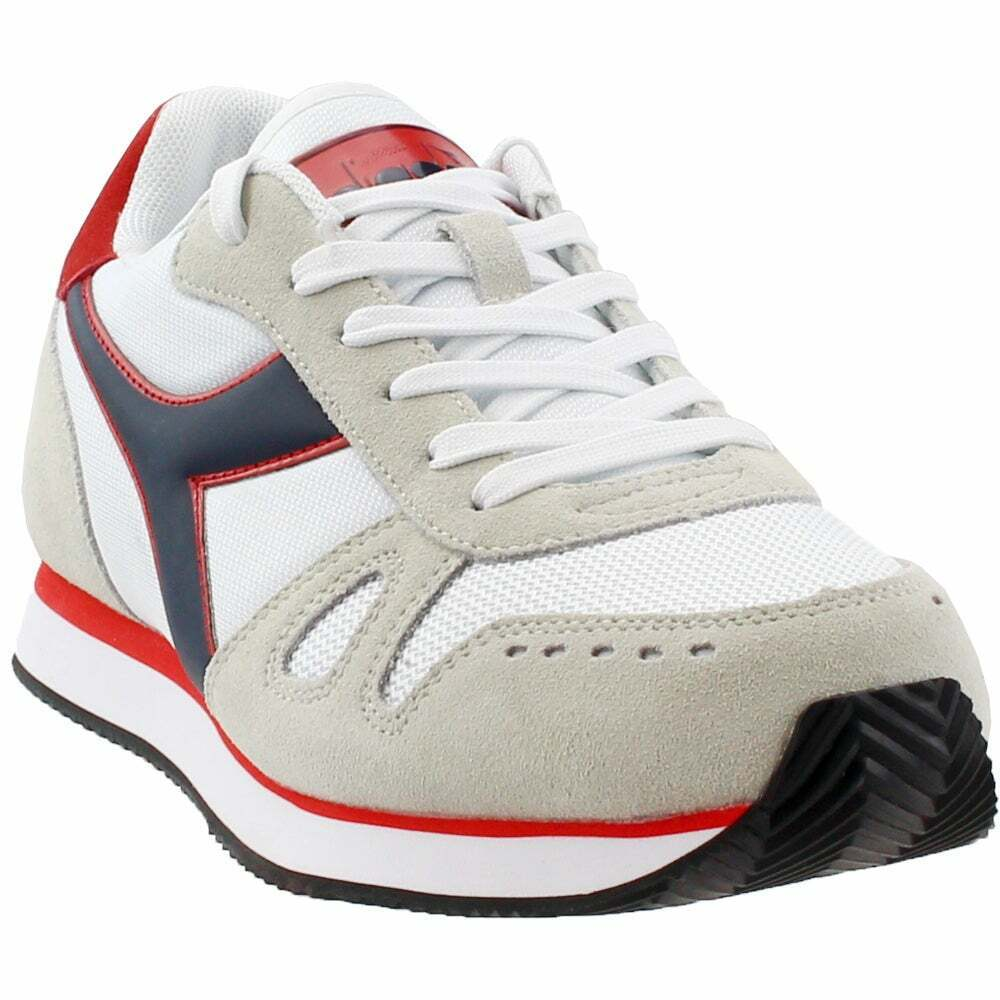Diadora Simple Run  Casual Running  Sneakers - White - Mens