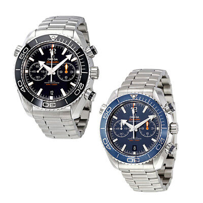 Omega Seamaster Planet Ocean Chronograph Automatic Mens Watch - Choose color