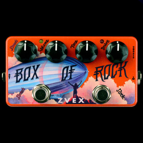 ZVEX Box of Rock Vexter Series Overdrive - MAKE OFFER - FREE SHIP