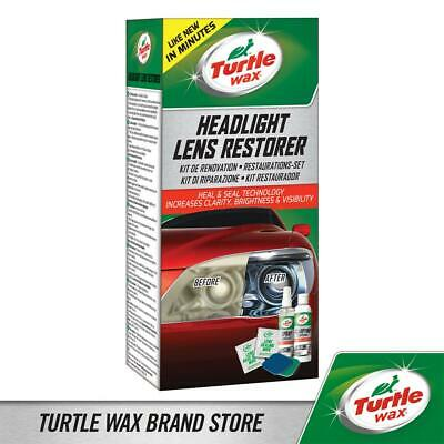 Turtle Wax Headlight Restorer Kit Headlamp Cleaning Kit Compound Polish Sealant