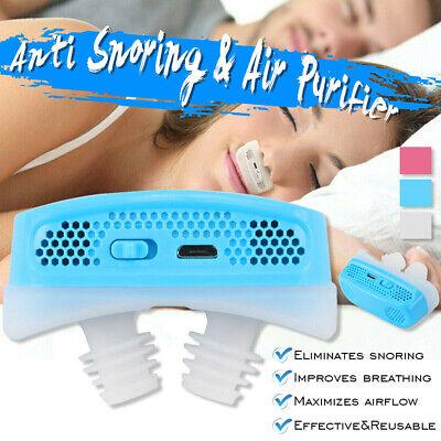 Micro CPAP Anti Snoring Electronic Device for Sleep Apnea St