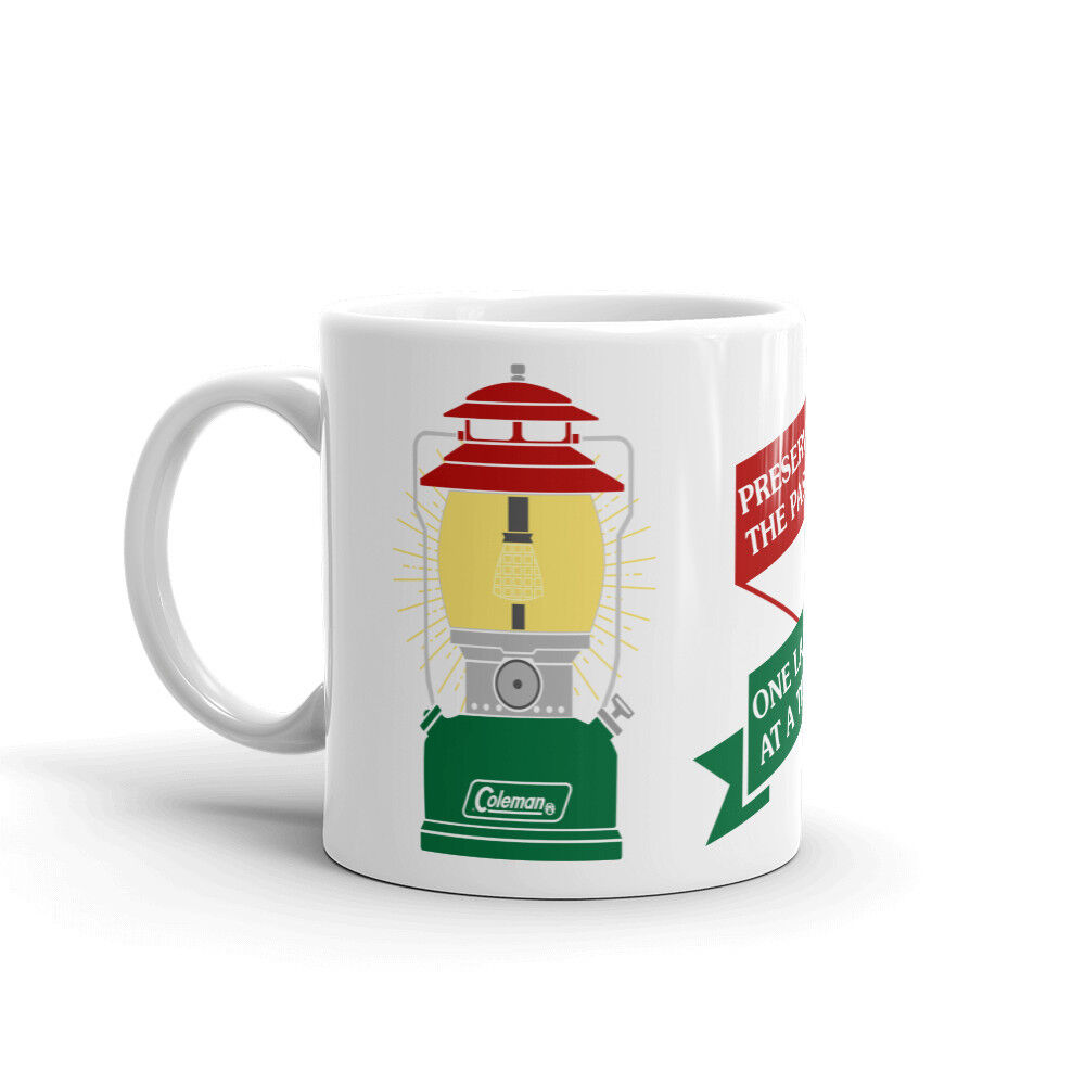 Everybody Loves the Coleman Lantern 200 Series Short Hat Coffee Mug
