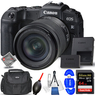Canon EOS RP with 24-105mm f/4-7.1 Lens + 64GB Bundle - AUTHORIZED DEALER