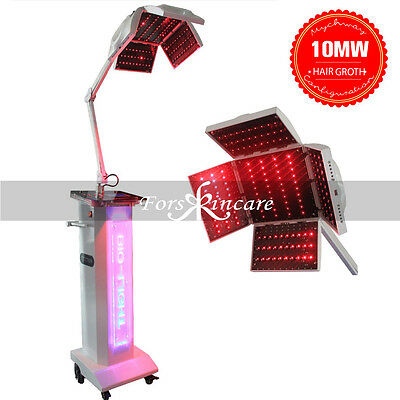 10MW 650nm&670nm Dual Light 320 Leds Bio Stimulate Hair Re-Growth Treat Machine
