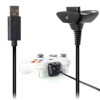 Cable Cargador Compatible Mando Inalámbrico XBOX 360 USB 1,80 Metros n136