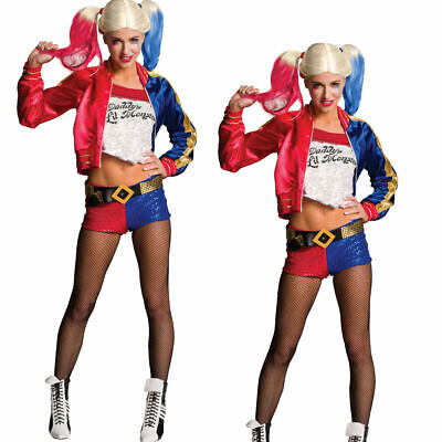 Harley Quinn Erwachsene Kostüm Suicide Sqaud Offiziell Kostüm Outfit Damen Devil