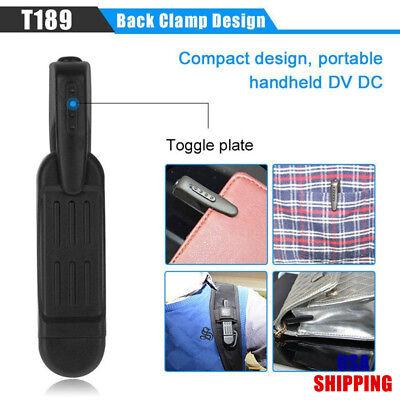 - T189 Mini Camera Full HD 1080P Secret Camera Wearable Small Pen Camera Mini DVR