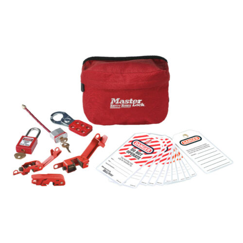 MasterLock S1010E410 Compact Electrical Lockout Tagout Kit | AUTHORISED DEALER