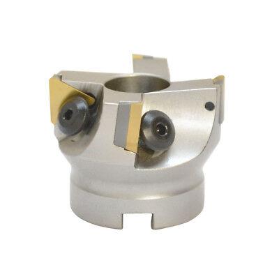 90 Degree Indexable Face Mill Cutter 2x34 4 Flute Apmt Tp32 D Cnc Insert