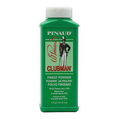 Pinaud Clubman FINEST BODY BATH-SHOWER TALC (WHITE) 4 oz. TRAVEL (Shower Talc)