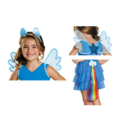 Girls My Little Pony Rainbow Dash Halloween Kit - Little Pony Halloween