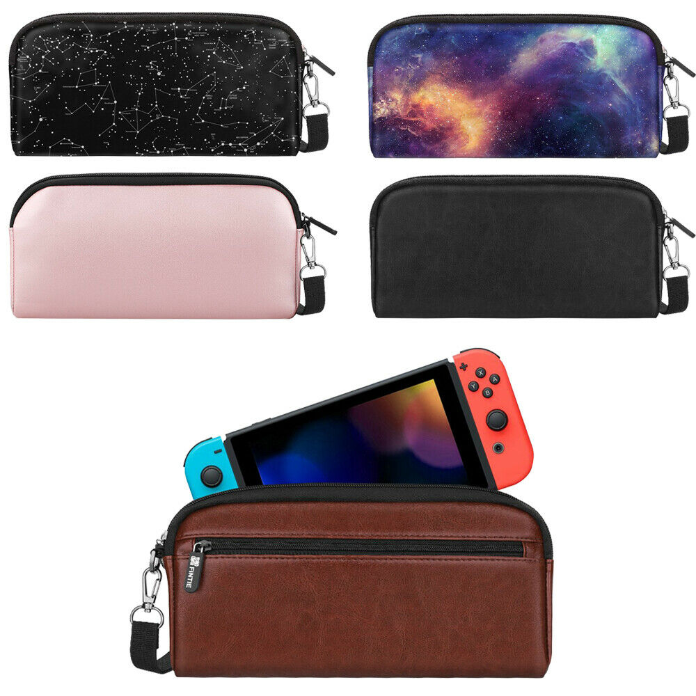 For Nintendo Switch Protective Sleeve Pouch  Side Pocket & G
