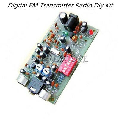 Digital-fm-transmitter (Digital FM Transmitter Radio players Station 0.1W PLL Stereo BH1417F Kit)