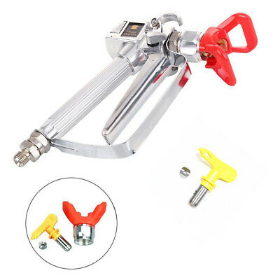 3600 Psi Spray Gun W Tip Guard Airless Paint For Titan Wagner Sprayer