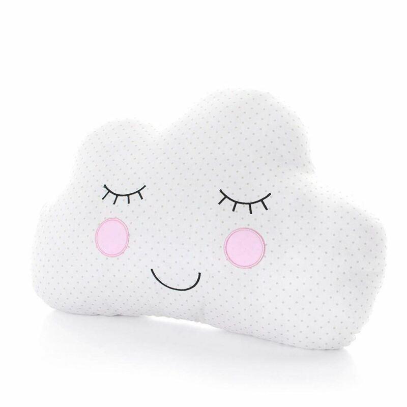 Sweet Dreams Cloud Cushion White/Cream Bedroom décor