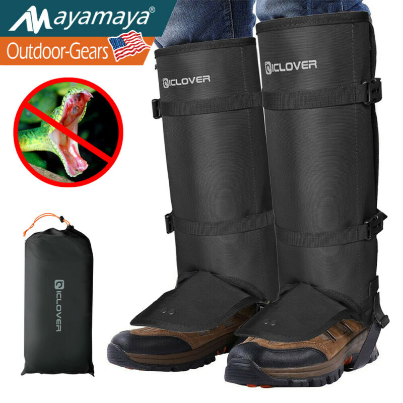 Snake Proof Gaiters Boots Leg Protection Guards Anti Bite Hunting Men Women S-L