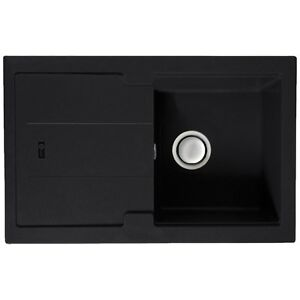 Carron Phoenix Bali 105 Jet Black sink