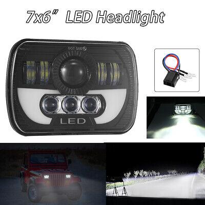 "7x6"" LED Headlight Hi/Lo Beam For Chevy Express Cargo Van 1500 2500 3500 Truck"