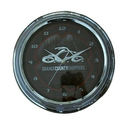 ORANGE COUNTY CHOPPERS OCC - Snake Skin - Wanduhr / Wall Clock (Snake Skin Uhr)