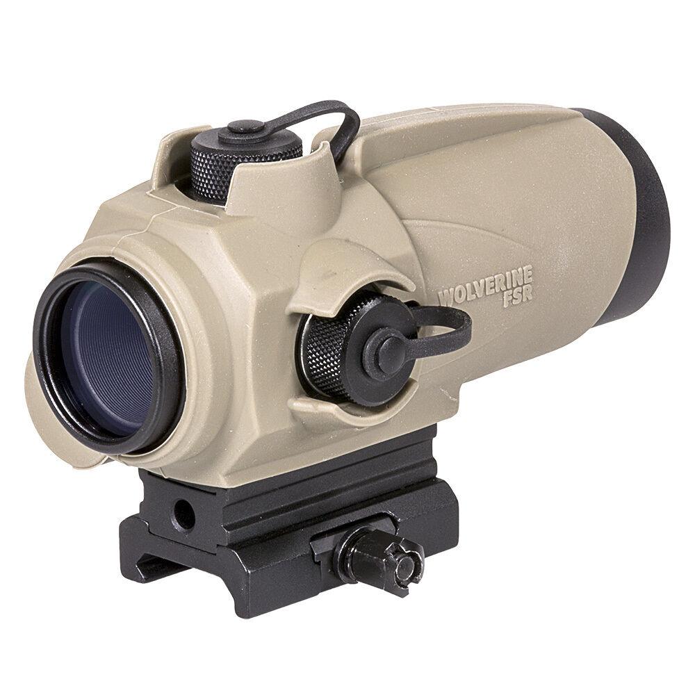 Sightmark Wolverine FSR Red Dot Sight - Flat Dark Earth