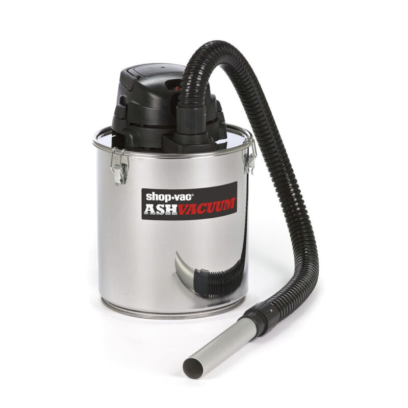 Shop-Vac Bagless Canister Vacuum Stainless Steel 4041300