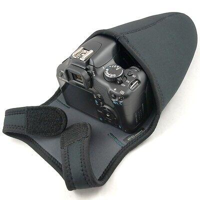 B-Ware Kameratasche Neopren Gr. S Wende Foto Tasche für DSLR SLR Spiegelreflex