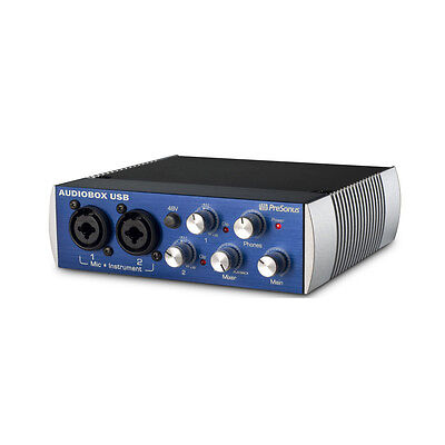 Presonus Audiobox USB Audio MIDI Interface + Studio One Artist V3 Software